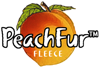 PeachFur Fleece Logo