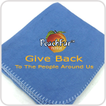 fleece charity blanket