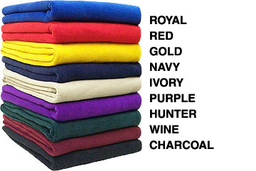 Wholesale fleece blankets