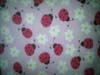 Red Dog Paw Print Fleece Fabric