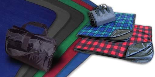 Fleece Picnic Blanket Outdoor Sport Camping Emergency