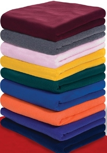 wholesale promo fleece blankets