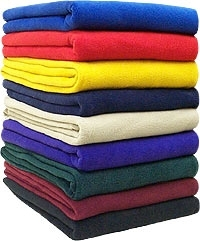 wholesale fleece blankets for promos