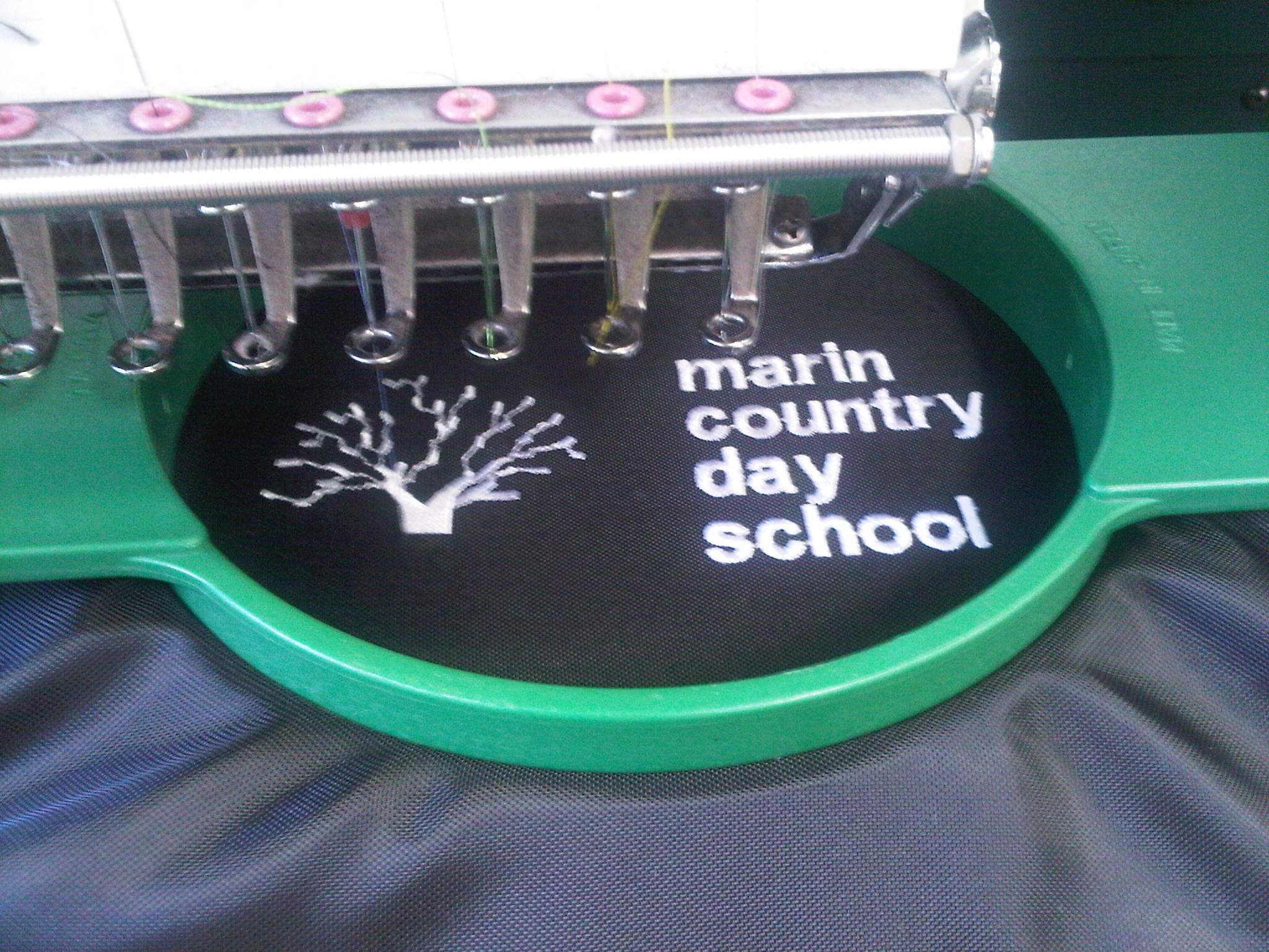 day school fleece throw