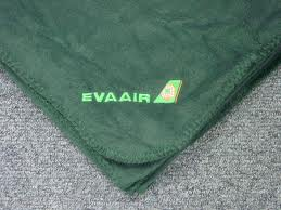 eva air fleece throw