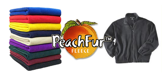 Peachfur fleece blankets