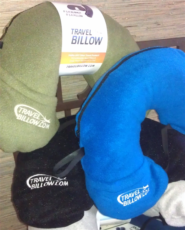 Wholesale Travel Pillows With Fleece Blanket